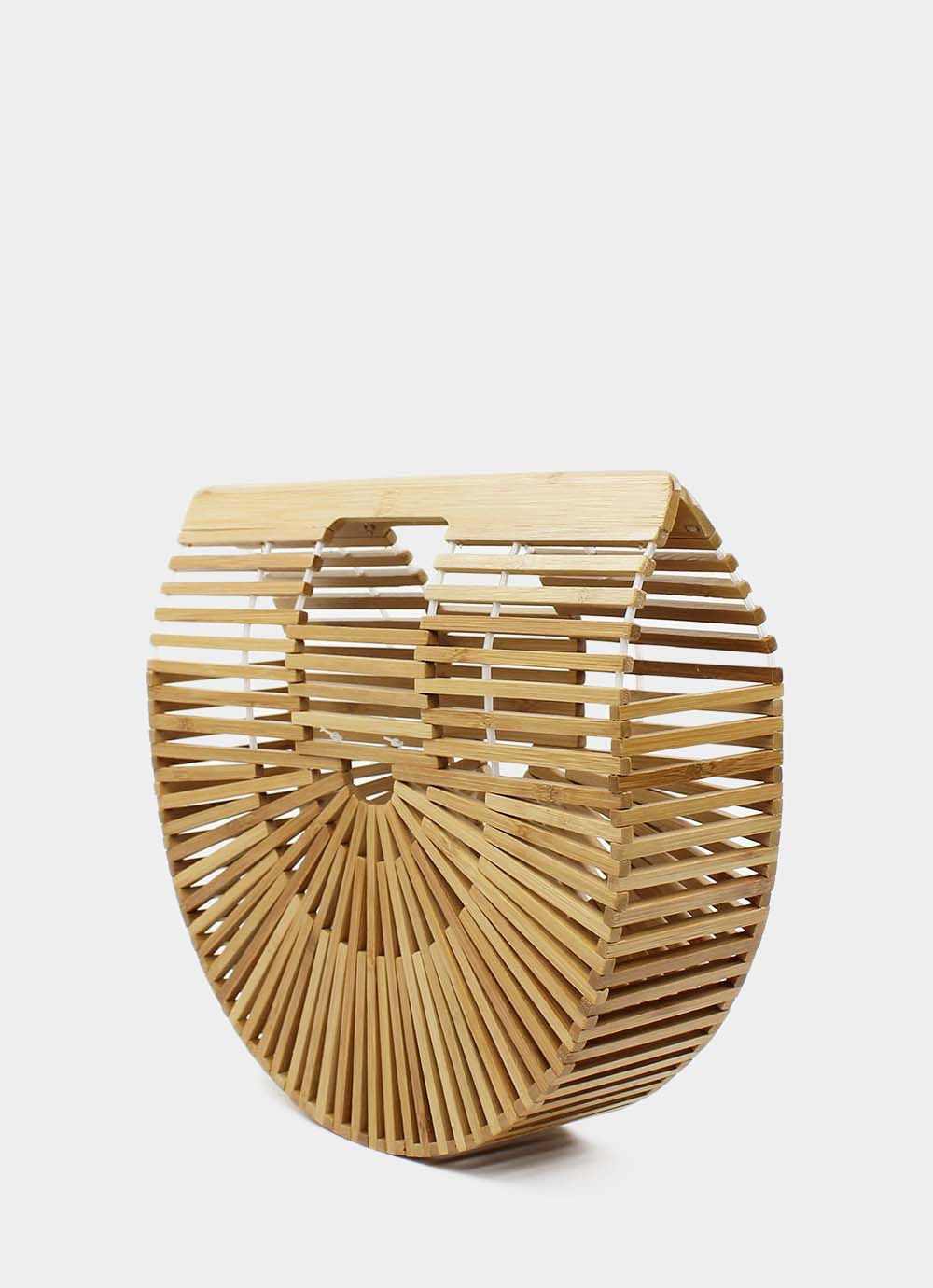 Bamboo clutch