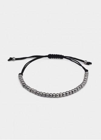 Beaded bracelet Black