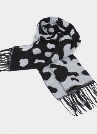 Cow spot scarf